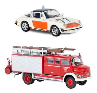 Brekina hulpdiensten, politie & brandweer