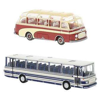 Brekina bussen, stap in een reis mee!