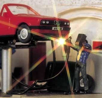 Busch verlichting en elektronica