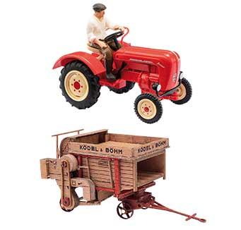 Busch landbouw of grondverzet voertuigen kopen?