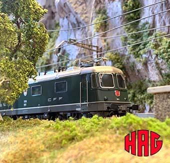 Tweedehands modeltreinen van HAG kopen?