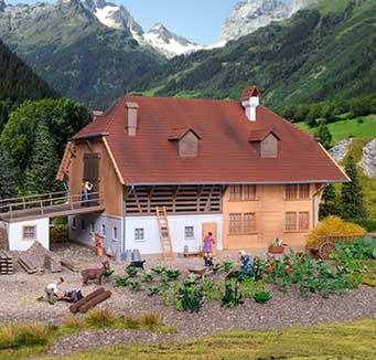 Kibri bouwpakketten op het boerenland kopen?