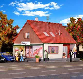 Kibri winkels of commerciële gebouwen kopen?