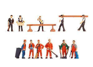 Noch Figuren - Arbeiders & Personeel