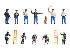 Noch Figuren - Hulpdiensten