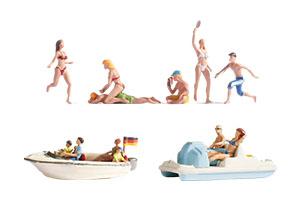 Noch Figuren - Strand & Zonnen