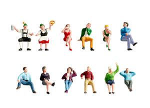 Noch Figuren - Zittende figuren