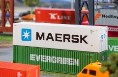 Faller 180847 H0 40' Hi-Cube Refrigerator Container MAERSK