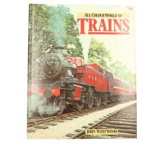 boek 'All Colour World of Trains' (ENG)