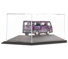 Herpa 183307 H0 Mercedes bus met neon patroon