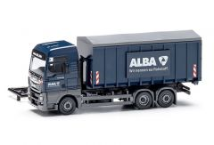 Wiking 067204 H0 MAN TGX met container 'Alba'