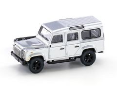 Wiking 10203 H0 Land Rover Defender 110 in het zilver