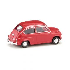 Wiking 009904 H0 Fiat 600 rood